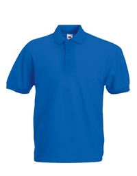 Fruit of the loom 65/35 Pique Polo royal blue