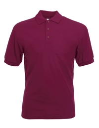 Fruit of the loom 65/35 Pique Polo bordeaux