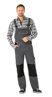 2133 Canvas 320 Overalls - Grå/sort