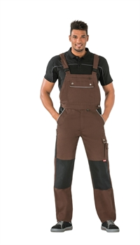 2136 Canvas 320 Overalls - Brun/sort