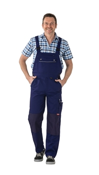 2138 Canvas 320 Overalls - Marineblå