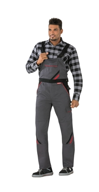 2332 Highline Overalls - Skiffer/sort/rød