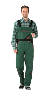2335 Highline Overalls - Grøn/sort/rød