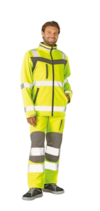 Plaline High Visible Softshell jakke