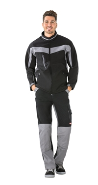 2700 Softshell jakke,sort/zink