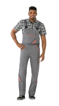 2430 Visline Overalls zink / orange / skifer