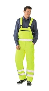 2060 High Visible Vinter Overalls Uni