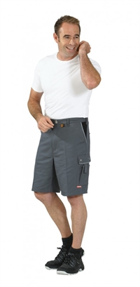 2173 Canvas 320 Shorts - Grå/sort