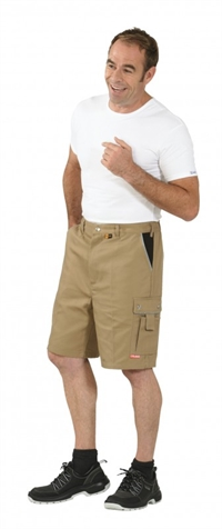 2175 Canvas 320 Shorts - Khaki/sort