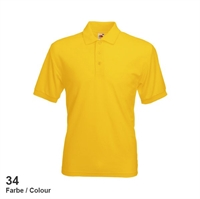 634020-34 Fruit of the loom 65/35 Pique Polo