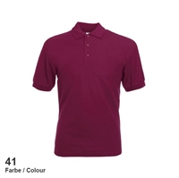 634020-41 Fruit of the loom 65/35 Pique Polo