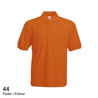 634020-44 Fruit of the loom 65/35 Pique Polo