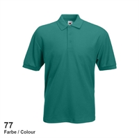 634020-77 Fruit of the loom 65/35 Pique Polo