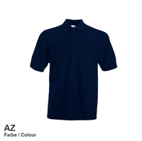 634020-AZ Fruit of the loom 65/35 Pique Polo