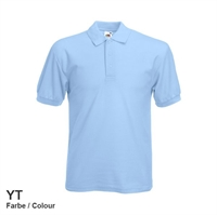634020-YT Fruit of the loom 65/35 Pique Polo