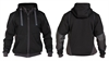 300400 Dassy Pulse Sweatshirt jakke Sort/ Antrasite
