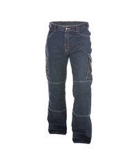 DASSY ® KNOXVILLE, STRETCH-JEANS MED KNÆLOMMER