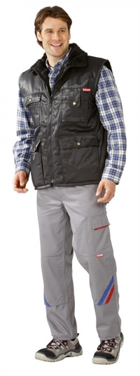0339 Gletscher Pilot vest Sort