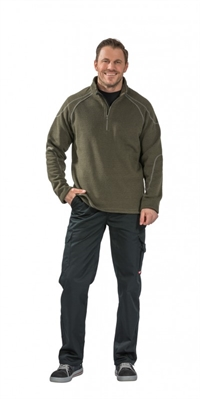 3063 Cozy Pullover - Oliven