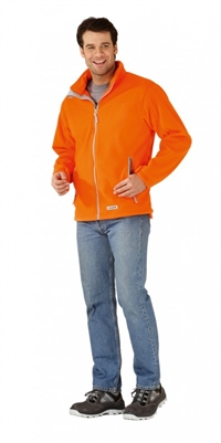 3449 Retro Fleece Jakke Orange